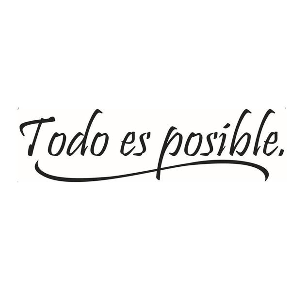 todo es possible - all is possible